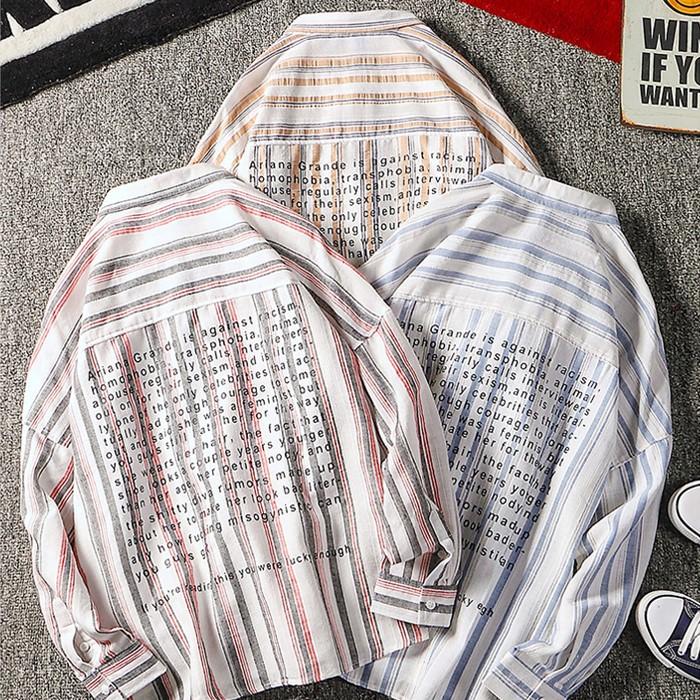 # CH-19FWNB02 BACK 레터링 셔츠