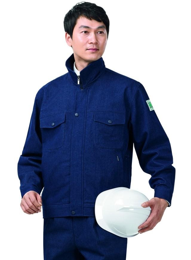 [경신코리아] KSK A-3,KSK A-4 춘추작업복 청작업복 상하세트 안전 현장 근무복