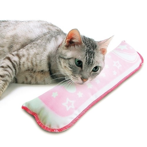 장난감 네코모테 타키 베개 마다다비 고양이집