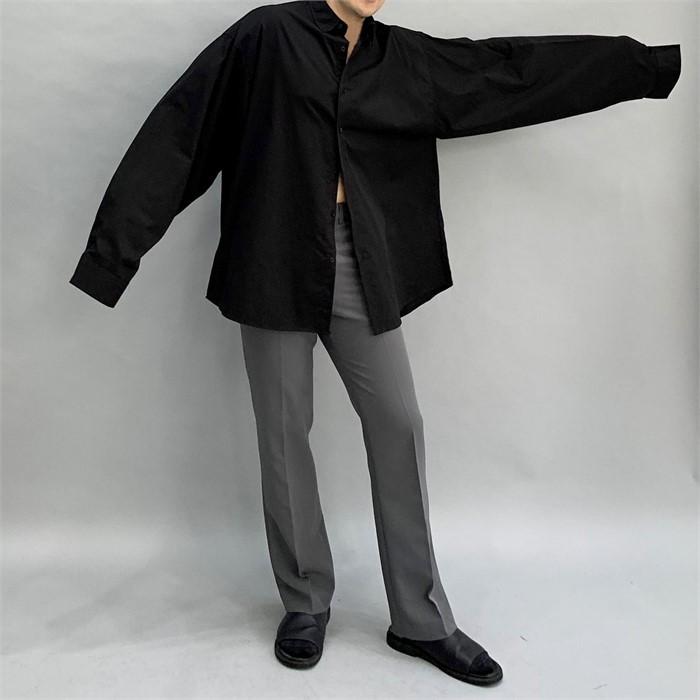 [24.7 JOSEPH] 리얼 오버핏 남자 긴팔셔츠 여자 긴팔셔츠 남녀공용 박스핏셔츠