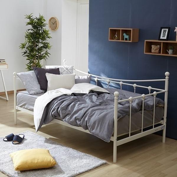 모던하우스 NC02 로맨틱 철재 싱글 침대 BD036001K9