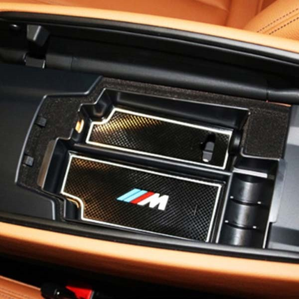 [디어프랜즈] BMW 5시리즈 G30 전용 콘솔트레이 수납함