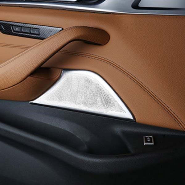 [디어프랜즈] BMW 5시리즈 G30 도어 스피커 커버 몰딩 bmw 520d 530i