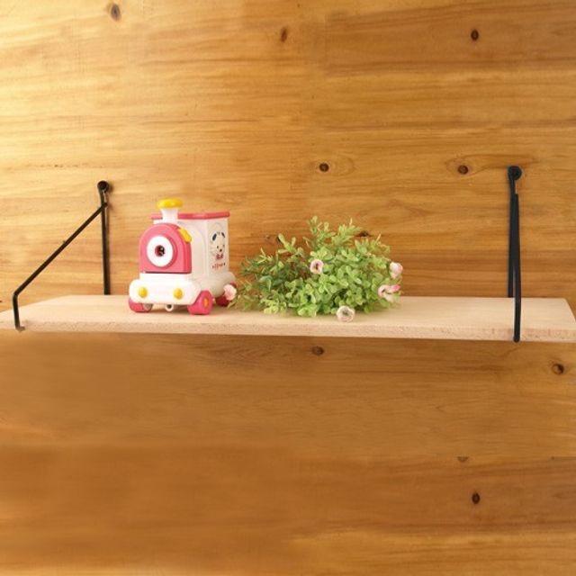 나무선반 스트링 200x600 원목 우드 다용도 인테리어