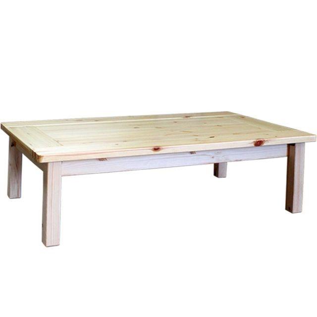 원목 접이식 테이블 좌탁 교자상 식탁 1200x600x310