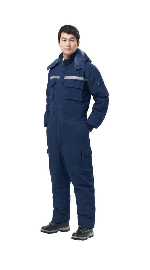 [경신코리아] KSK 137 스즈끼 겨울 방한복 정비복 일체형작업복