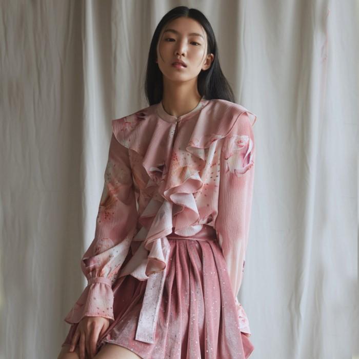 [블리다] rosie frill blouse