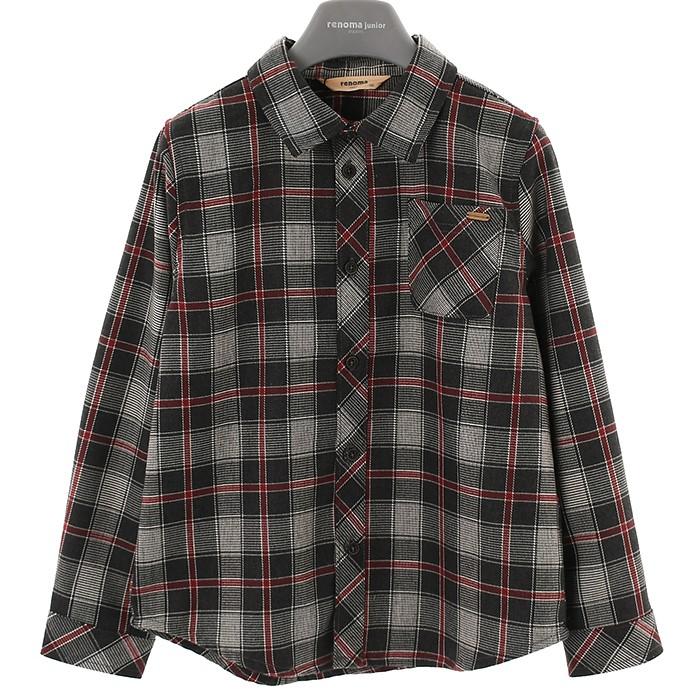 레노마키즈 NC02 체크셔츠(겨울) R1941B301