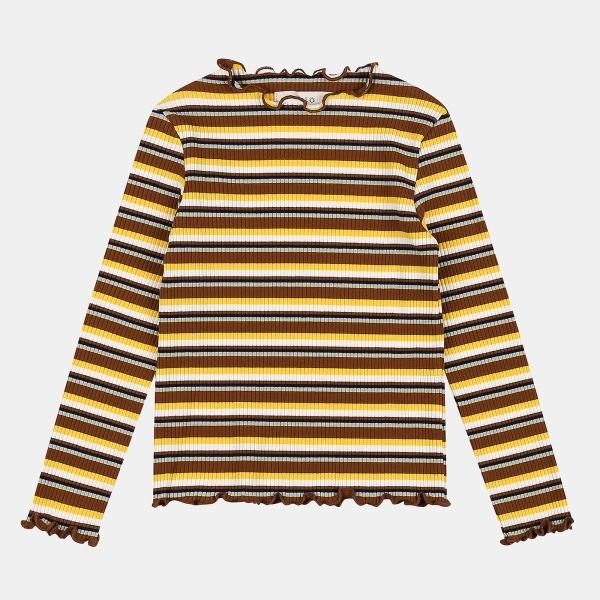 일로딜로 NC08 스트라이프 골지 티셔츠 IDLA19854