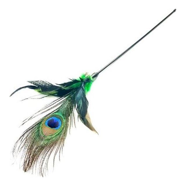 티티캣 공작깃털 캣토이(색상임의배송