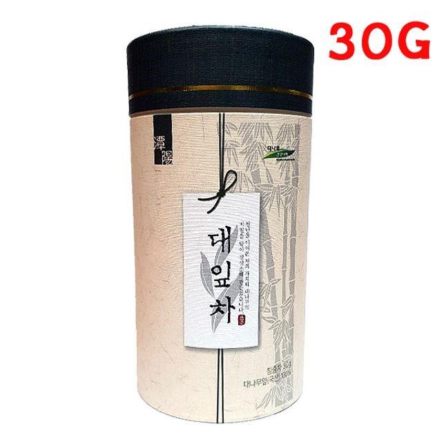 대잎차 30g 죽엽차 대나무잎차 전통차 국내산대잎
