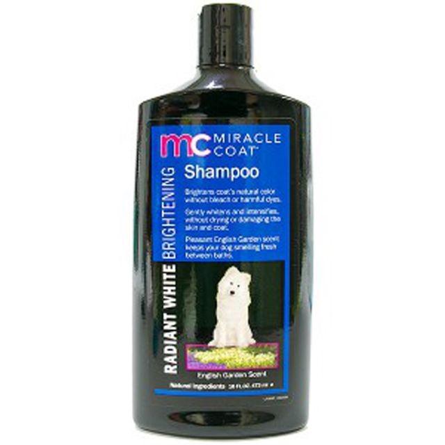 미라클코트 래디언트 화이트 샴푸 473ml 애완용품
