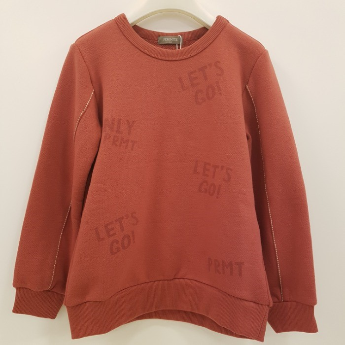 페리미츠 NC08 레츠고 맨투맨 티셔츠 P1932t107