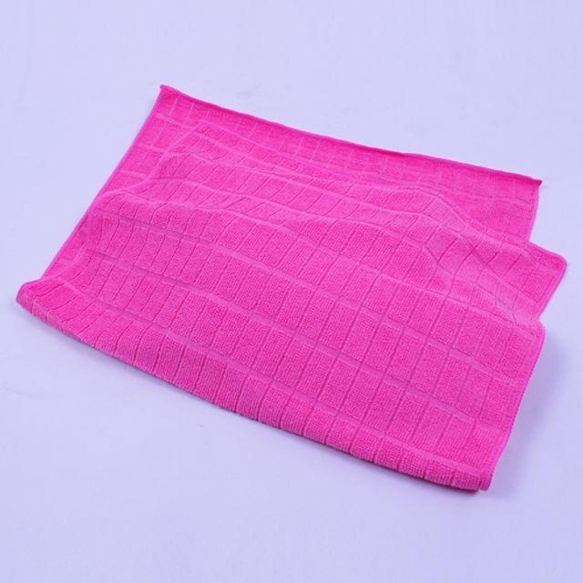 극세사 바둑이걸레 핑크 60cm x 40cm