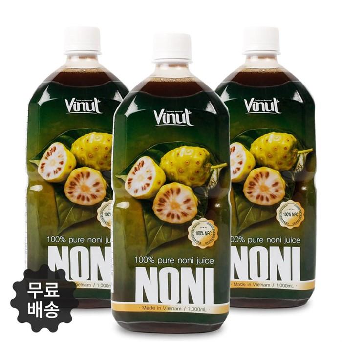 2019년7월 입고 NFC 비넛 노니원액쥬스 1L/3병