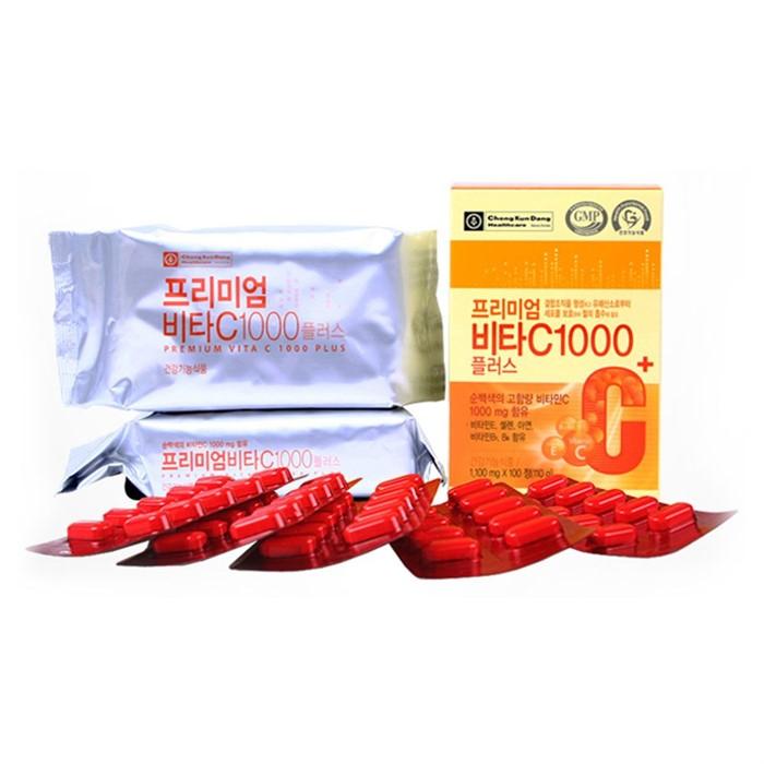 종근당건강 프리미엄 비타C1000 플러스 1100mg 100정