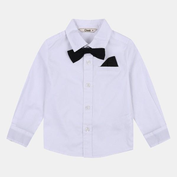 치크 NC08 댄디 남아 셔츠(+보타이,W) CKYA19W01