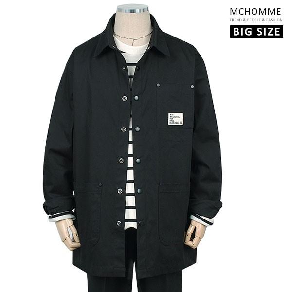 엠씨옴므 빅사이즈(~3XL) 지금 딱 가볍게 입기 좋은 남방스타일 면 자켓 BT19S101_B