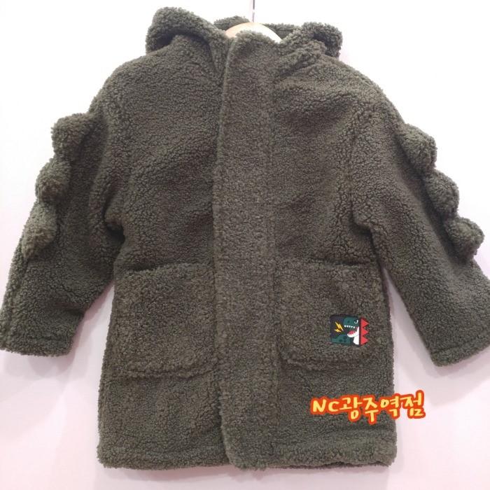 코코리따 NC05 귀요미뽀글 후드코트 CEJP19TE242