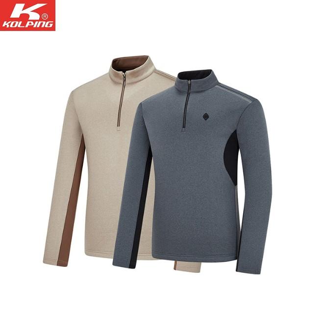 콜핑 PGD01 겨울남성등산티셔츠 보온 멜란지 KQT4501M
