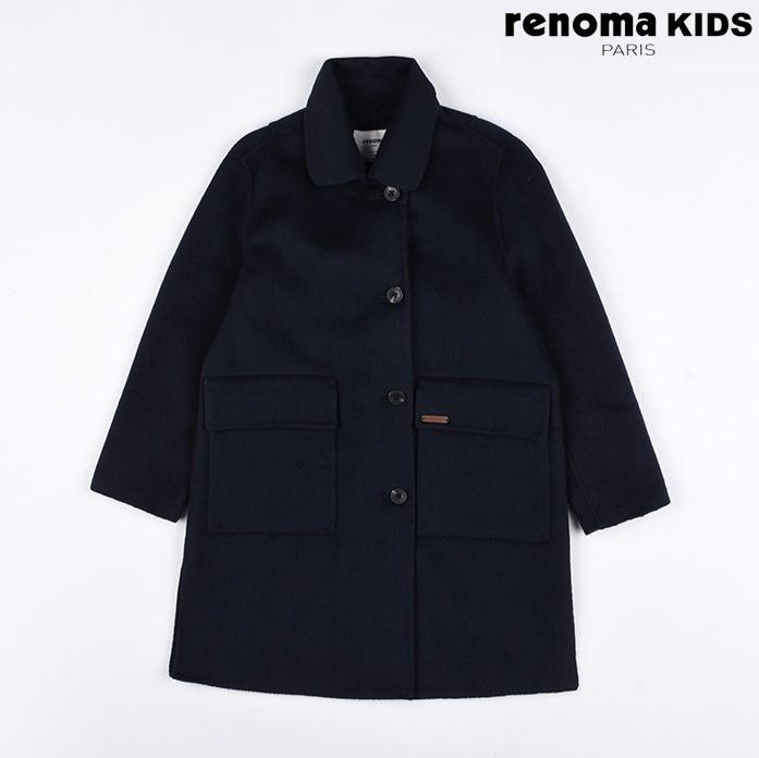 레노마키즈 NC08 네이비핸드메이드코트 R1941C005