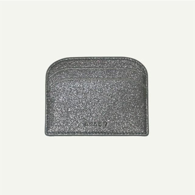 [아라크나인] 아크모던 GLITTER  WALLET silver