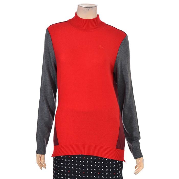 JDX NC02 여성 반넥 언발기장 스웨터 X2PWSPW51