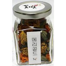 [꽃맛] 꽃맛꽃차 메리골드 맛나는 무농약 수제차선물 식용 자연재배 꽃모종