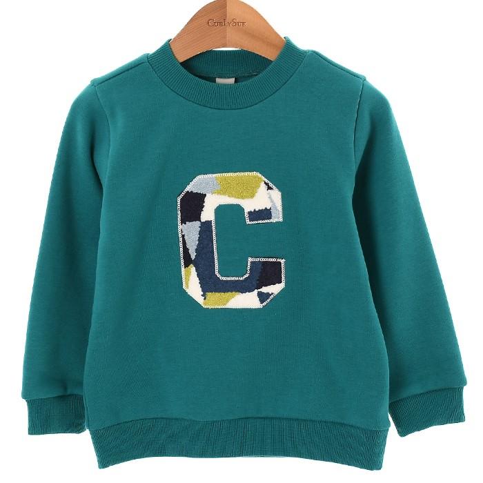 컬리수 NC02 패치맨투맨티셔츠 COW1GQTS58
