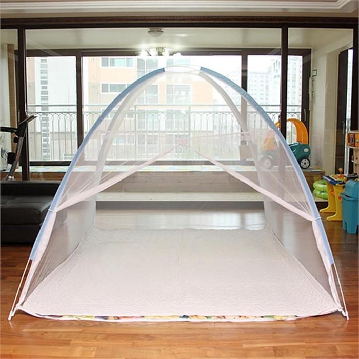 생활용품 화이바 원터치 대형 모기장 200x240cm