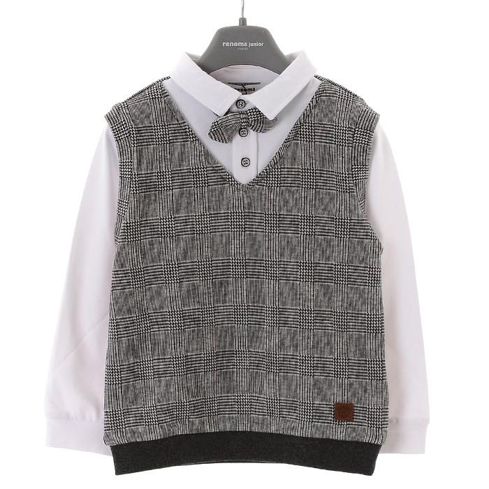 레노마키즈 NC02 베스트티셔츠(겨울) R1941T101