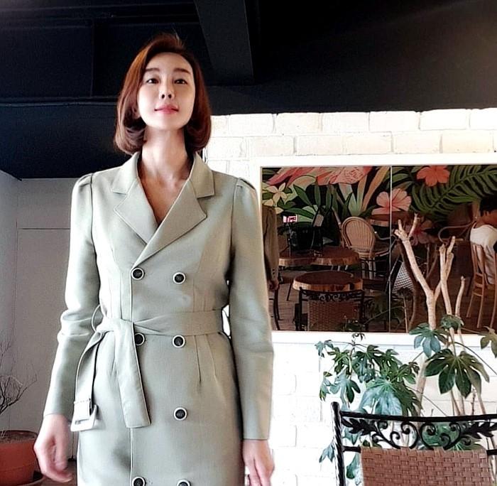 [더보니] 가을 하객원피스&트렌치 코트