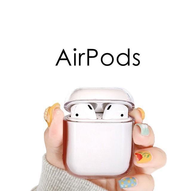 [마물샵] 하드 투명 에어팟 케이스 특이한케이스 디자인케이스 스마트폰 에어팟