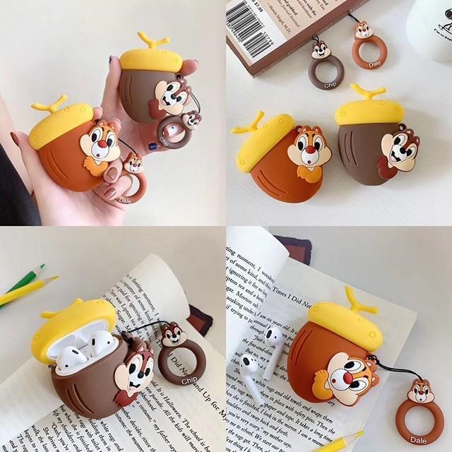[마물샵] 다람쥐 도토리 에어팟 1세대 2세대 케이스 특이한케이스 디자인케이스 스마트폰 에어팟