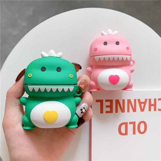 [마물샵] 귀여운 아기공룡 실리콘 에어팟 케이스 특이한케이스 디자인케이스 스마트폰 에어팟
