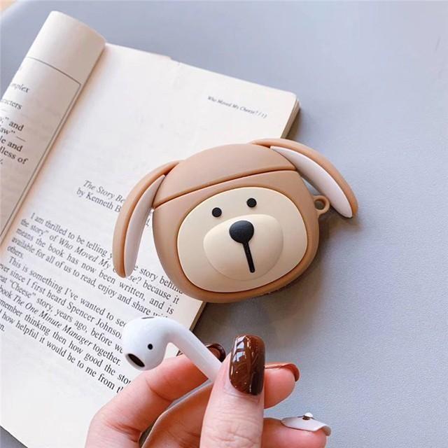 [마물샵] 귀여운 별다방 강아지 곰 에어팟 1세대 2세대 케이스 특이한케이스 디자인케이스 스마트폰 에어팟