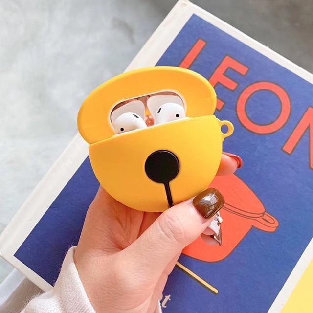 [마물샵] 귀여운 실리콘 방울 에어팟 케이스 특이한케이스 디자인케이스 스마트폰 에어팟