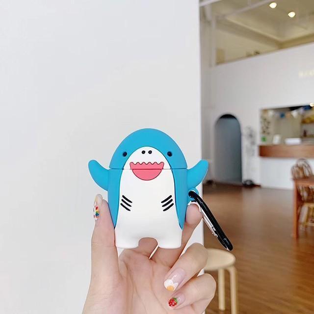 [마물샵] 아기 상어 뚜루루뚜루 에어팟 1세대 2세대 케이스 특이한케이스 디자인케이스 스마트폰 에어팟