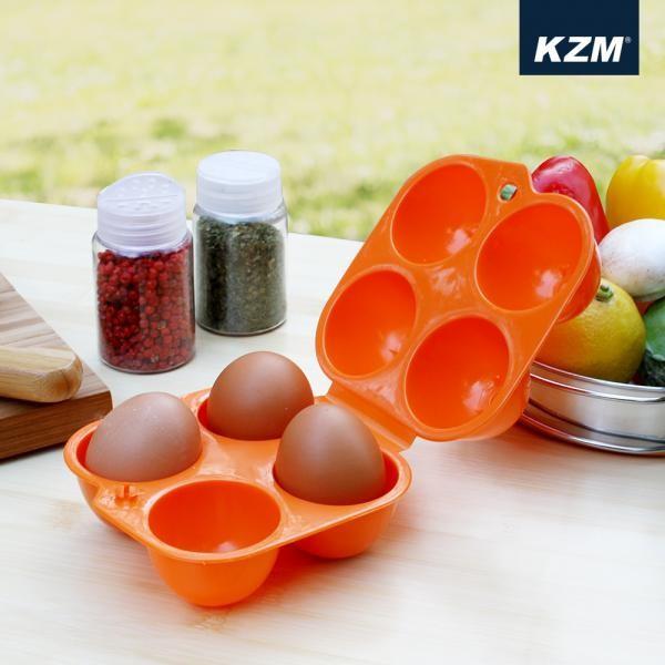 [마물샵] 코펠 주방 계란케이스 4구 계란 보관
