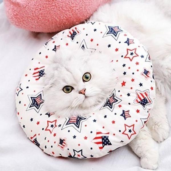 [마물샵] 동물 도넛 쿠션 보호 넥카라 S사이즈