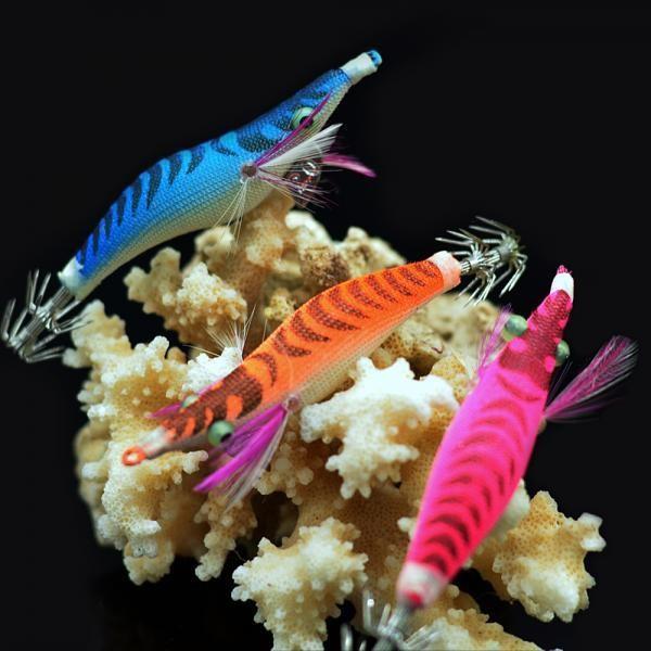 [마물샵] 마이쉬림프 에기 무늬오징어 에깅 루어 갑오징어