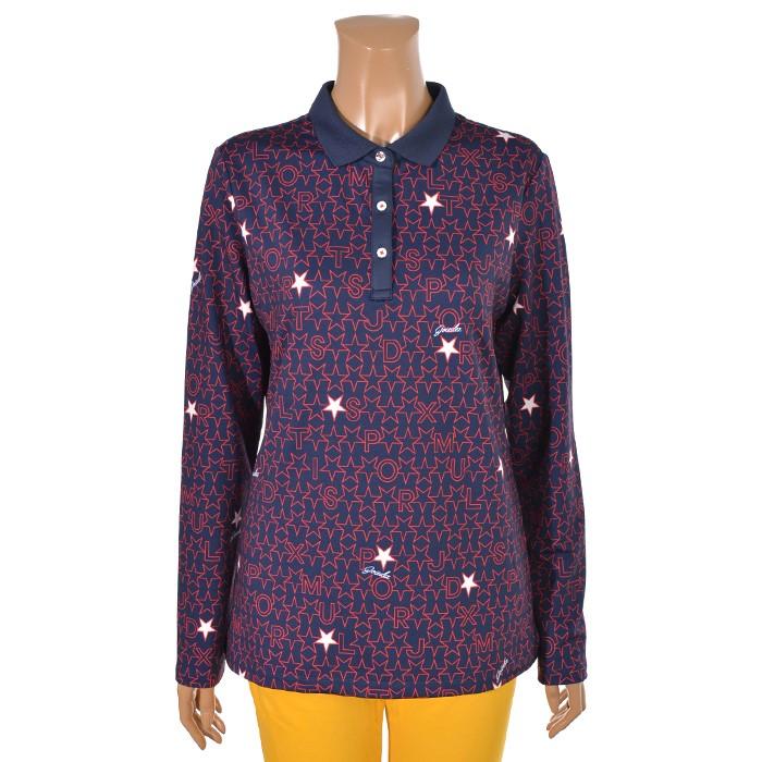 JDX NC02 가을 여성 별모티브 티셔츠 X2PFTLW55