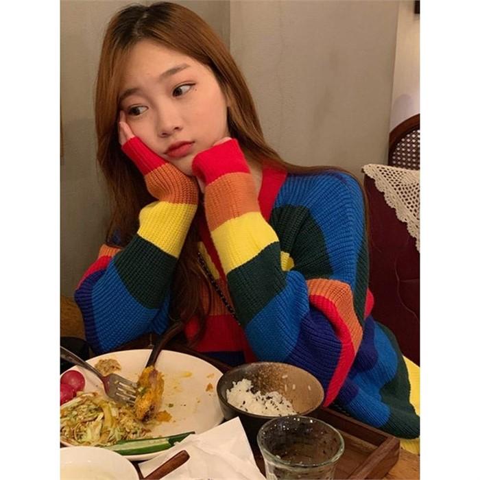 [일루아] 쥬비 레인보우가디건