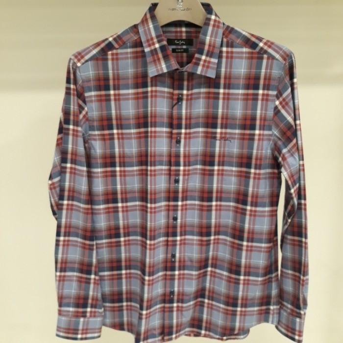 피에르가르뎅 (남성) NC05 가을체크셔츠 2 pjws3611