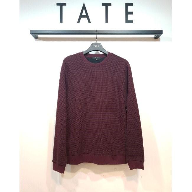 TATE NC02 남성 와플조직 라운드 티셔츠 KA9W9-MKL070