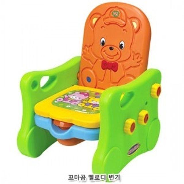 어린이 아동 장난감 꼬마곰 멜로디변기