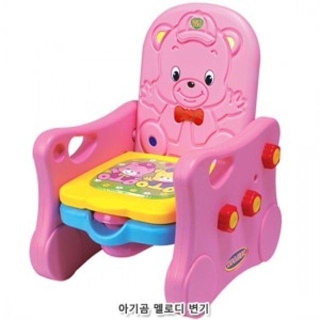 어린이 아동 장난감 아기곰 멜로디변기