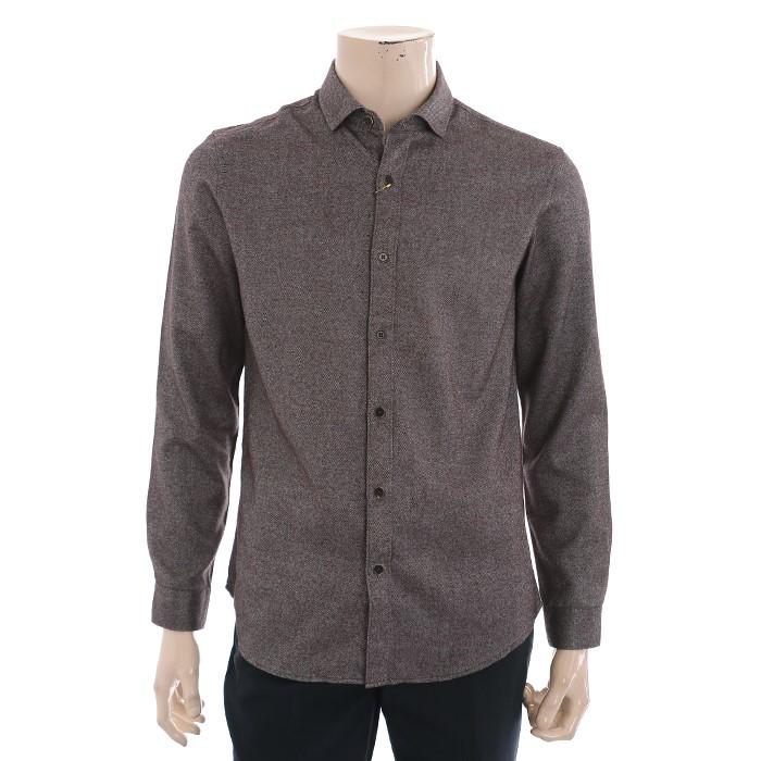 란찌 NC02 트윌 기모 셔츠 LAYS19T0180