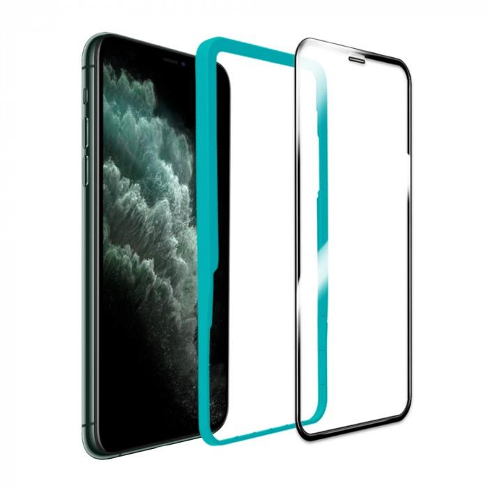 [케이안]아이폰11 풀커버 크리스탈아머PRO베이직 강화유리필름