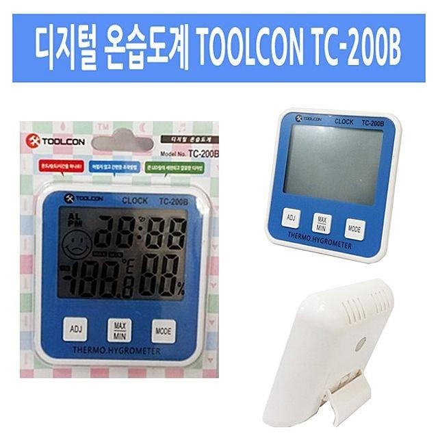 디지털 온습도계 TOOLCON
